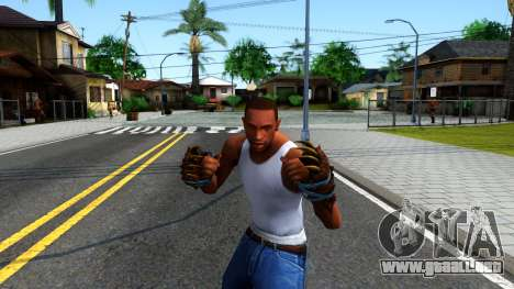 Blue Bear Claws Team Fortress 2 para GTA San Andreas tercera pantalla