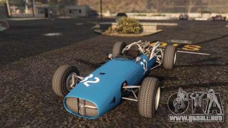GTA 5 Cooper F12 1967 v2 vista trasera