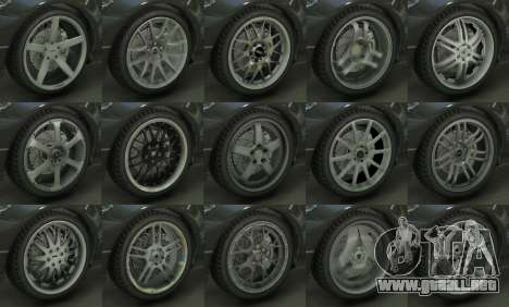 GTA 5 Real Wheels Pack