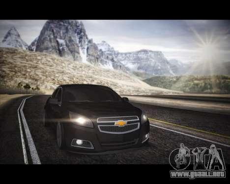 Chevrolet Malibu para la visión correcta GTA San Andreas