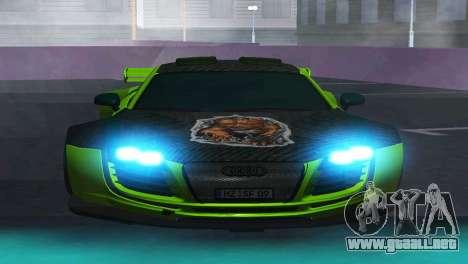 AUDI R8 LMS SPORTS para GTA San Andreas left