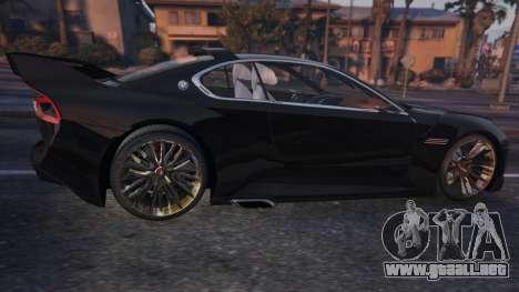 GTA 5 BMW 3.0 CSL Hommage R Concept vista lateral izquierda trasera