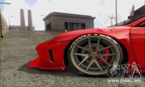 Ferrari 360 LB Work para visión interna GTA San Andreas