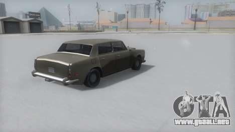 Stafford Winter IVF para GTA San Andreas left