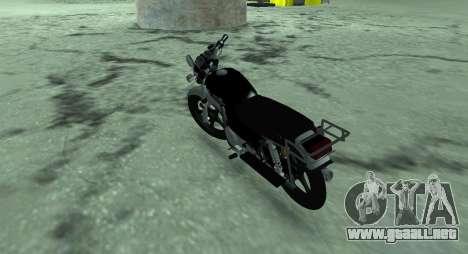 Ciclomotor alfa v. 0.1 para GTA San Andreas vista posterior izquierda