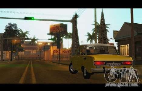 Moskvich 2140 GVR v1 para visión interna GTA San Andreas