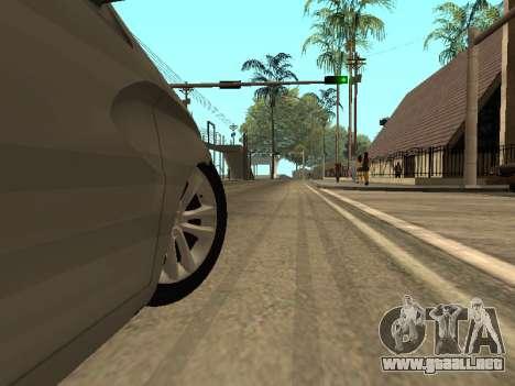 LADA Vesta BPAN para vista inferior GTA San Andreas