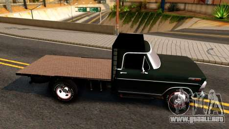 Ford F-350 Plataforma para GTA San Andreas left