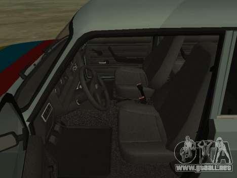 2107 para vista inferior GTA San Andreas