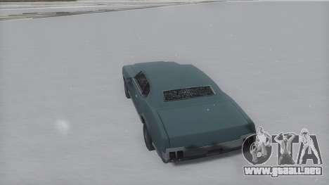 Sabre Winter IVF para GTA San Andreas left