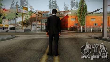 Dead Rising 3 - Nick in a Tuxedo para GTA San Andreas tercera pantalla