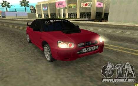 Subaru Impreza para GTA San Andreas