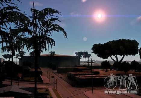 MMGE 3.0 para GTA San Andreas segunda pantalla