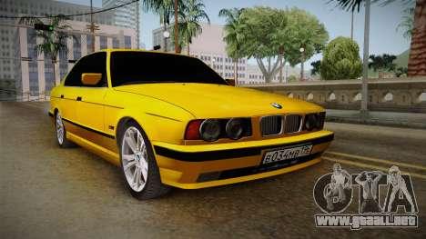 BMW 5-er E34 para la visión correcta GTA San Andreas