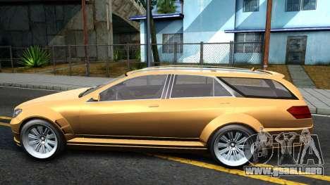 GTA V Benefactor Schafter Wagon para GTA San Andreas left