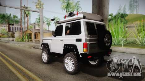 Toyota Land Cruiser Machito 2013 Sound Y para GTA San Andreas left