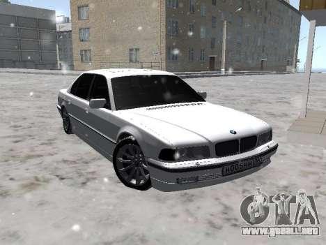 BMW 740I para GTA San Andreas