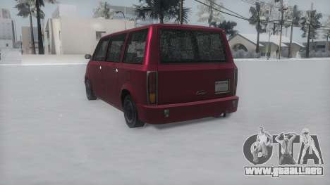 Moonbeam Winter IVF para GTA San Andreas left