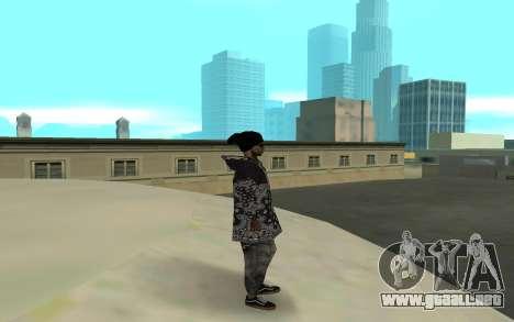 The Ballas 4 para GTA San Andreas segunda pantalla