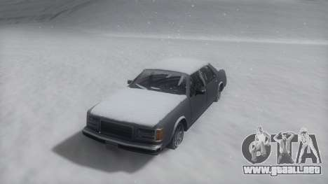 Washington Winter IVF para GTA San Andreas