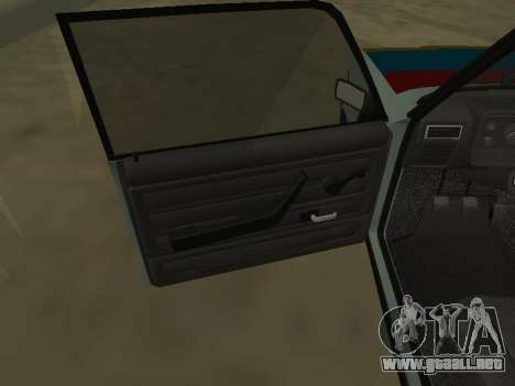 2107 para la vista superior GTA San Andreas
