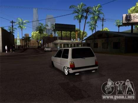 OKA - Dodge 2016 para GTA San Andreas vista posterior izquierda