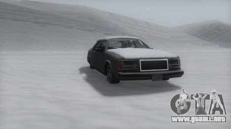 Washington Winter IVF para GTA San Andreas left