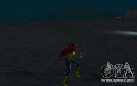 Aisha Rock Outfit from Winx Club Rockstars para GTA San Andreas sucesivamente de pantalla