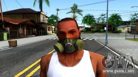 Gas Mask From S.T.A.L.K.E.R. Clear Sky para GTA San Andreas tercera pantalla