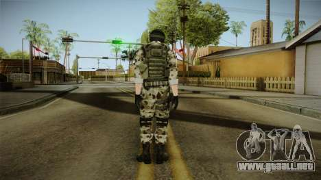 Resident Evil ORC Spec Ops v5 para GTA San Andreas tercera pantalla
