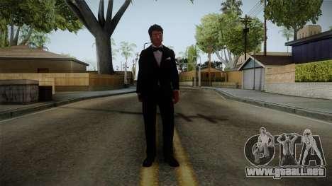 Dead Rising 3 - Nick in a Tuxedo para GTA San Andreas segunda pantalla