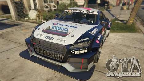 GTA 5 Audi TT cup 2015 vista trasera