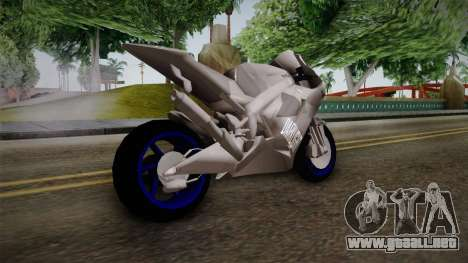 Dark Light Motorcycle para GTA San Andreas left