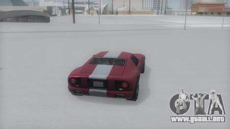 Bullet Winter IVF para GTA San Andreas left
