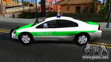 Dodge Intrepid German Police 2003 para GTA San Andreas left