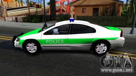 Dodge Intrepid German Police 2003 para GTA San Andreas left
