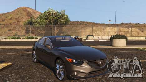 GTA 5 Mazda 6 2016 vista trasera