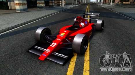 Ferrari 640 F1 1989 para GTA San Andreas