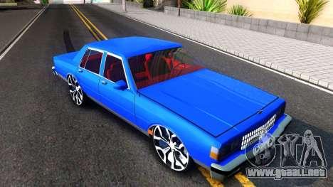 Chevrolet Caprice 1987 Tuning para GTA San Andreas