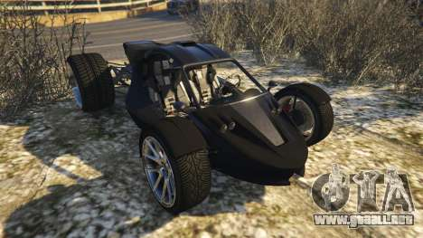 GTA 5 Raptor Car v2 vista trasera