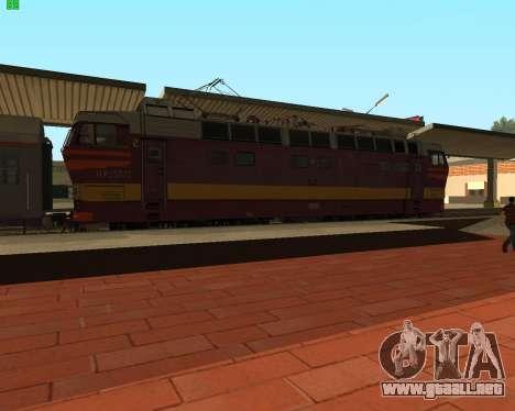 Locomotora de pasajeros CHS4t-521 para GTA San Andreas left