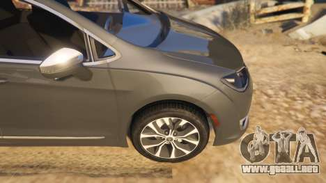 GTA 5 Chrysler Pacifica Limited 2017 vista lateral derecha