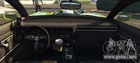 GTA 5 Vapid Crowd Runner vista lateral izquierda trasera