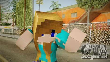 Minecraft - Stephanie para GTA San Andreas