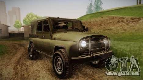 УАЗ-3151 CoD4 MW Remasterizado para GTA San Andreas