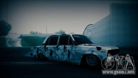 VAZ 2106 Camuflaje para GTA San Andreas left