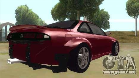 Nissan Silvia S14 Tuned para la visión correcta GTA San Andreas