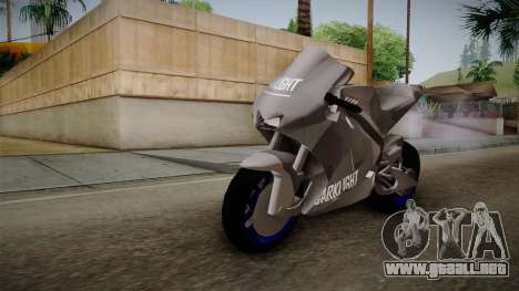 Dark Light Motorcycle para la visión correcta GTA San Andreas