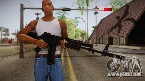 Call of Duty Ghosts - AK-12 para GTA San Andreas tercera pantalla