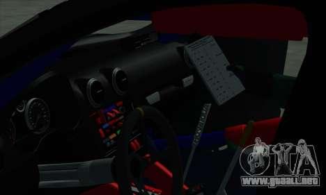 Audi RS3 Sportback Rally WRC para las ruedas de GTA San Andreas